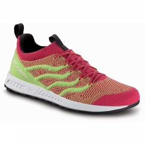 Scarpa Scarpa Womens Gecko Air Flip Shoe Raspberry/Lime