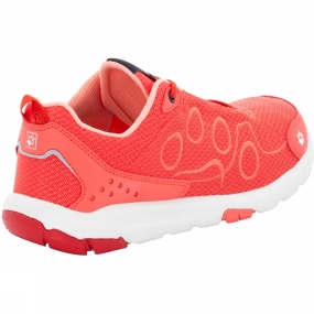 Jack Wolfskin Jack Wolfskin Womens Monterey Ride Low Shoe Hot Coral