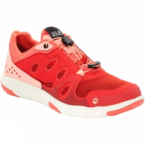 Jack Wolfskin Jack Wolfskin Womens Monterey Air Low Shoe Hot Coral