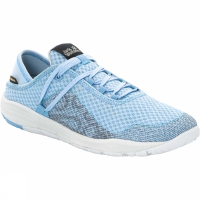 Jack Wolfskin Jack Wolfskin Womens Seven Wonders Packer Low Shoe Blue Heaven