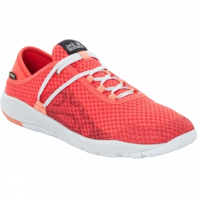 Jack Wolfskin Jack Wolfskin Womens Seven Wonders Packer Low Shoe Hot Coral