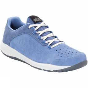 Jack Wolfskin Jack Wolfskin Womens Seven Wonders Low Shoe Dusk Blue