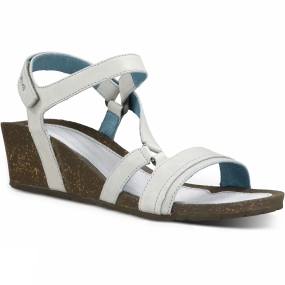 Teva Teva Womens Cabrillo Crossover Wedge Sandal Glacier Grey