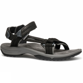 Teva Teva Womens Terra FI Lite Leather Sandal Black