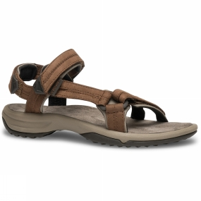Teva Teva Womens Terra FI Lite Leather Sandal Brown