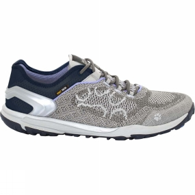 Jack Wolfskin Jack Wolfskin Womens Crosstrail Knit Low Shoe Grey Haze
