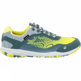 Jack Wolfskin Jack Wolfskin Womens Crosstrail Texapore Low Shoe Bright Absinth