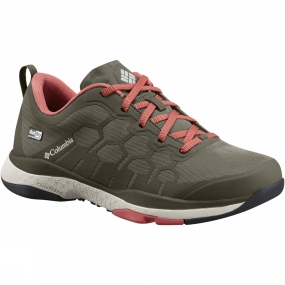Columbia Columbia Womens ATS Trail FS38 Outdry Shoe Cypress / Sunset Red