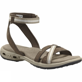 Columbia Womens Inagua Vent Sandal Mud/ Silver Sage