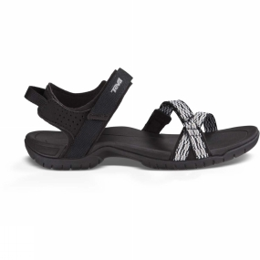 Teva Teva Womens Verra Sandal Modern Stripes Black / White