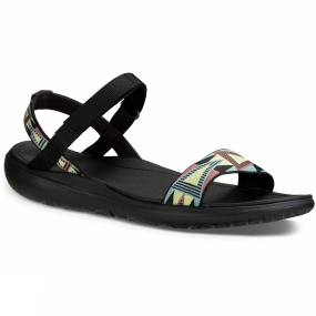Teva Teva Womens Terra-Float Nova Sandal Mosaic Black / Multi