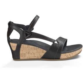 Teva Teva Womens Capri Wedge Sandal Dark Shadow