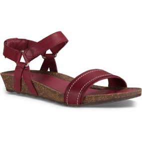Teva Teva Womens Ysidro Stitch Sandal Fired Brick