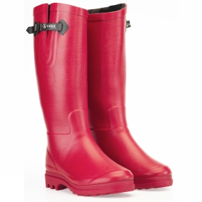 Aigle Womens Aiglentine Fur Welly