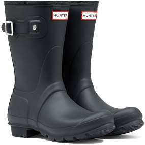 Hunter Womens Original Short Wellington Boots