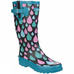 Cotswold Cotswold Womens Burghley Welly Raindrop