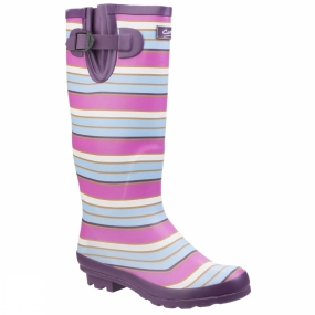 Cotswold Cotswold Womens Wadeberry Welly Berry/Multi