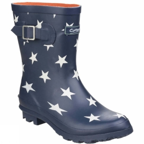 Cotswold Womens Badminton Waterproof Pull On Welly Star