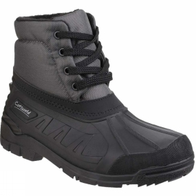 Cotswold Womens Leoni Lace Up Canadian Boot Grey