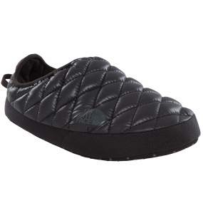 The North Face Womens ThermoBall Tent Mule IV Shiny TNF Black/ Beluga Grey