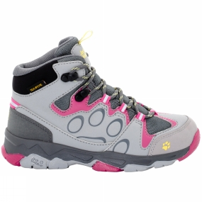 Jack Wolfskin Kids Mtn Attack 2 Texapore Mid Shoe Tropic Pink