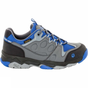 Jack Wolfskin Kids Mountain Attack 2 Texapore Low Shoe Vibrant Blue