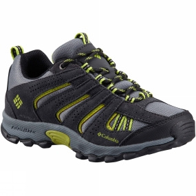 Columbia Youth North Plains Waterproof Shoe Grey Ash / Voltage