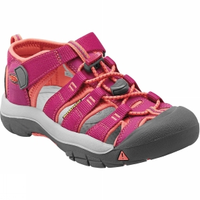 Keen Newport H2 Youth Sandal Very Berry / Fusion Coral