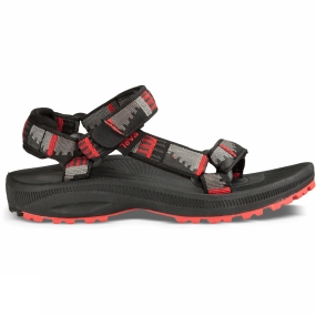 Teva Teva Kids Hurricane 2 Sandal Peaks Grey/Black/Red