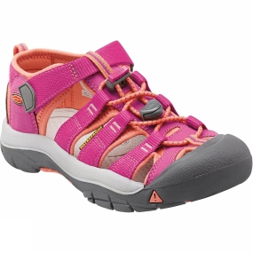 Keen Keen Kids Newport H2 Sandal Very Berry / Fusion Coral