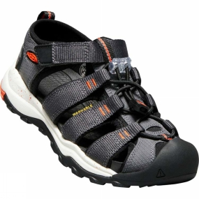 Keen Youths Newport Neo H2 Sandal Magnet/Spicy Orange