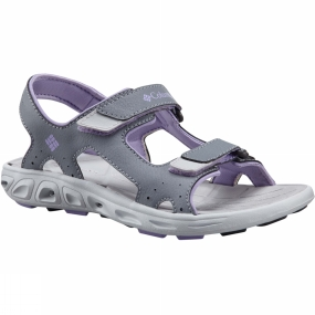 Columbia Kids Techsun Vent Sandal Tradewinds Grey/White Violet