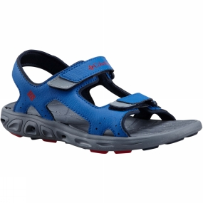 Columbia Kids Techsun Vent Sandal Stormy Blue/Mountain Red