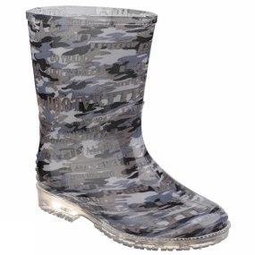 Cotswold Kids PVC Welly Camo