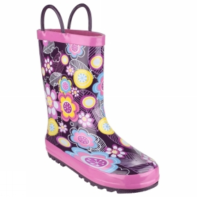 Cotswold Kids Puddle Boot Flower