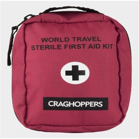 Craghoppers Craghoppers Sterile First Aid Kit Red
