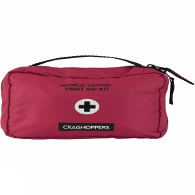 Craghoppers Travel First Aid Kit Red