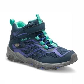 Merrell Girls Moab FST Mid Waterproof Boot