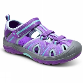 Product image of Merrell Girls Hydro Hiker Sandal Purple/Blue