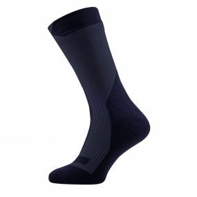 Product image of SealSkinz Men's Trekking Thick Mid Socks Black/Anthracite