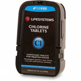 Lifesystems Chlorine Tablets .
