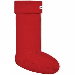 Hunter Womens Boot Sock Military Red