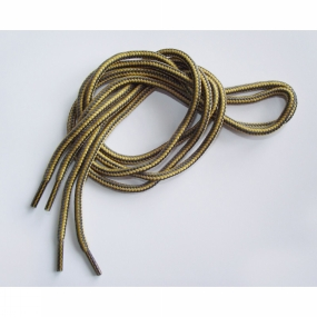 """Ultimate Performance Walking Laces 45"""" Gold/Taupe"""