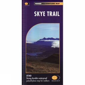 Harvey Maps Skye Trail Map 1:40K
