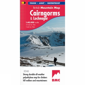 Harvey Maps Cairngorms & Lochnagar British Mountain Map 1:40K