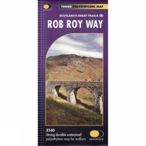 Harvey Maps Rob Roy Way Map 1:40K