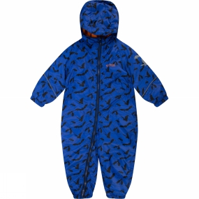 Regatta Kids Printed Splat Rain Suit