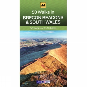 AA Publishing 50 Walks in the Brecon Beacons and South Wales