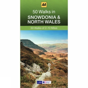 AA Publishing 50 Walks in Snowdonia and North Wales