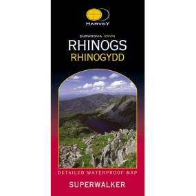 Harvey Maps Harvey Maps Snowdonia Rhinogs No Colour